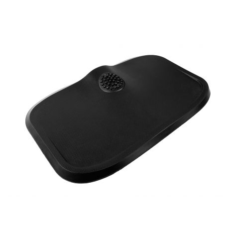 "Massage Anti-Fatigue Mat with Built-In Vibrating Foot Massager, Black, 30"" x 18"" x 1.6"""